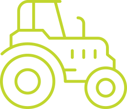 Graphic of tractor