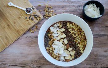 Chocolate Peanut Butter Bowl Recipe