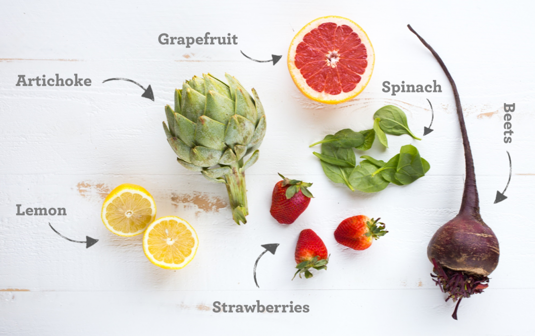 Spring Fruit & Veggies