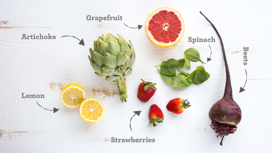Spring Fruit & Veggies