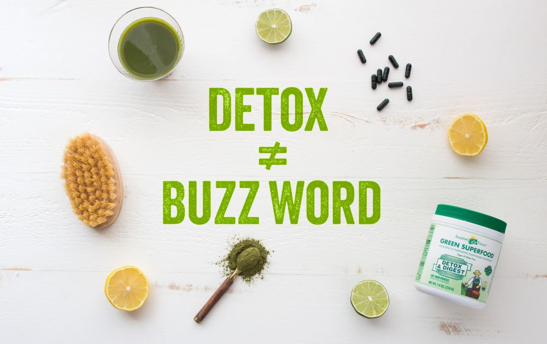 What does detox really mean?
