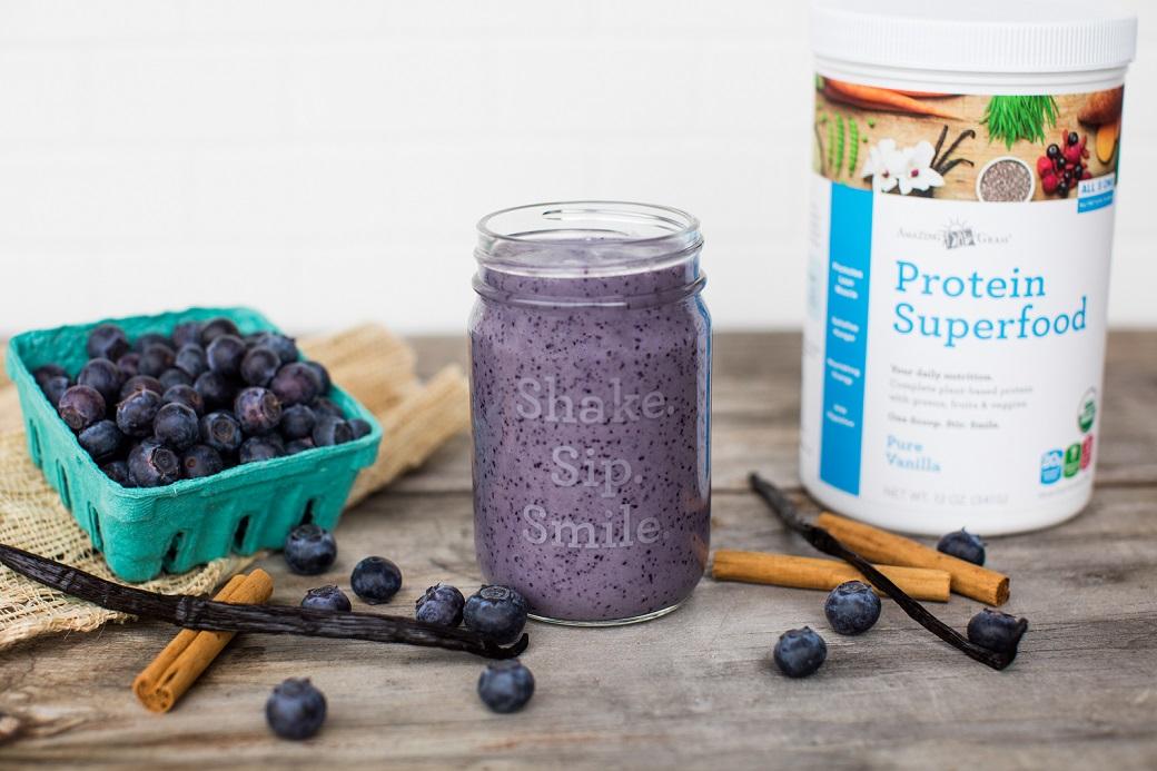 Maple Blueberry Smoothie Recipe
