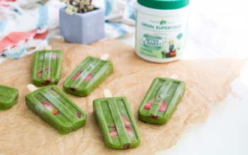 Green Smoothie Detox Popsicles