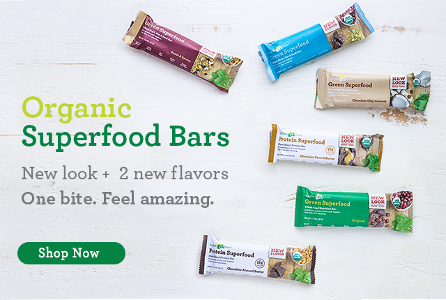 Organic Superfood Bars