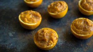 Spiced Butternut Squash Orange Cups