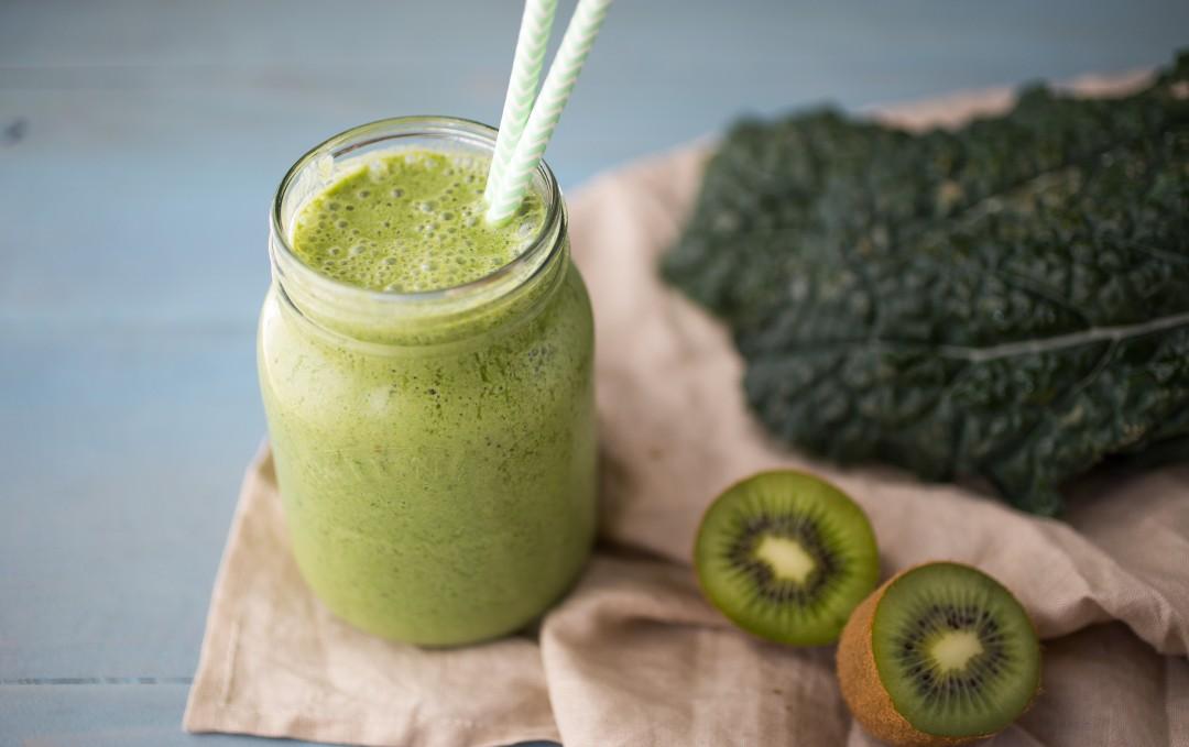 Kiwi Kale Smoothie