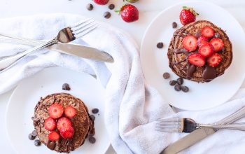 Chocolate Protein Pancakes Recipe