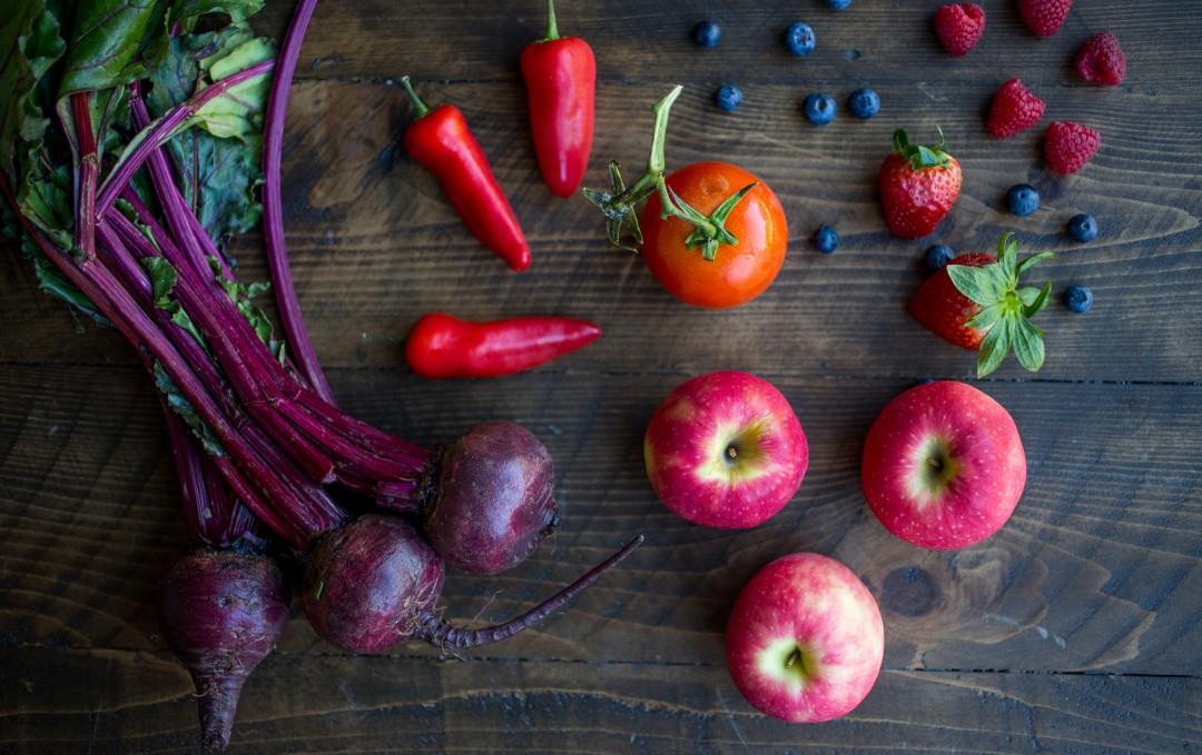 Heart Healthy Fruits & Veggies