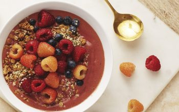 Raspberry Oat Bowl Recipe