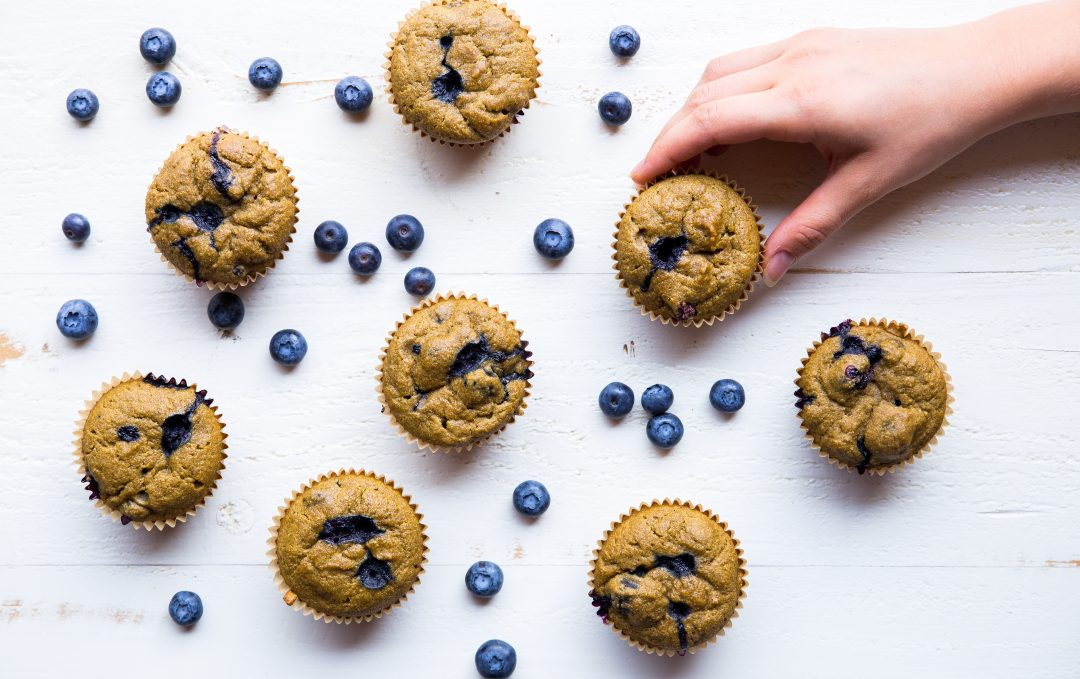 Beauty Elixir Blueberry Muffins