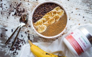 Brain Boosting Chocolate Banana Smoothie