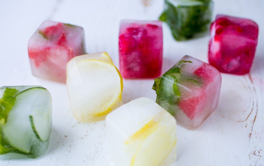 Fruit-Infused Ice Cube Chunks Recipe