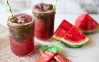 Energizing Watermelon Superfood Slushie Recipe