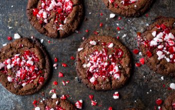Chocolate Peppermint Cookies Recipe With Hidden Greens & Probiotics