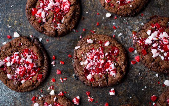 Chocolate Peppermint Cookies Recipe With Hidden Greens & Probiotics