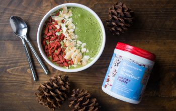 Nutrient-Dense Holiday Cookie Smoothie Bowl Recipe