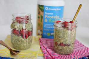 Protein & Kale Overnight Oats