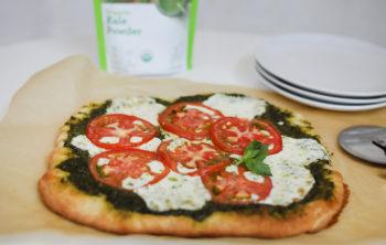 Kale-Powered Pesto Pizza